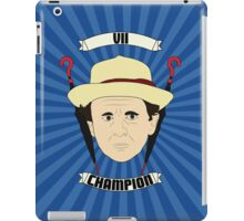 Doctor Who Portraits - Seventh Doctor - Champion iPad Case/Skin