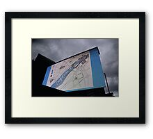 Newcastle-Gateshead CityGames Screen Framed Print