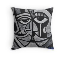 nosetonose Throw Pillow