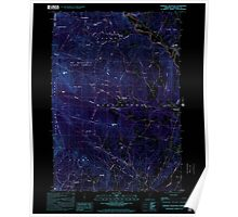 USGS Topo Map  Vermont VT Sterling Mountain 337665 1998 24000 Inverted Poster