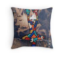 peaceheadsista Throw Pillow