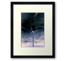 y)double reverse Framed Print