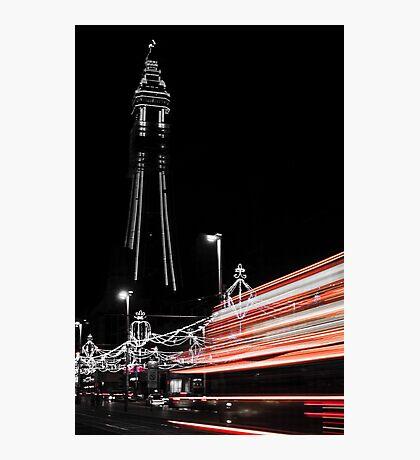 Viva Las Blackpool Photographic Print