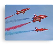 The Red Arrows - Duxford Spring Airshow 2013 Canvas Print