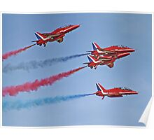 The Red Arrows - Duxford Spring Airshow 2013 Poster