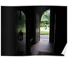 DOORWAY OF ST BRIDGETS PARISH CHURCH Poster