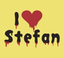 i love Stefan by monkeybrain