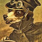 Greeting card - Vintage Dogs 2 by © Kira Bodensted