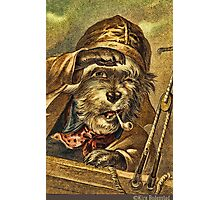 Greeting card - Vintage Dogs 6 Photographic Print