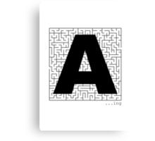 A-Maze-ing Canvas Print