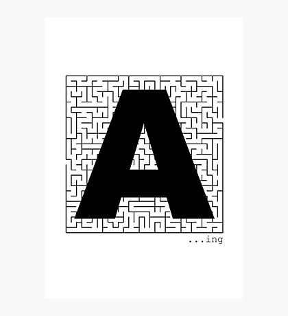 A-Maze-ing Photographic Print