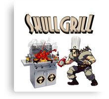 SkullGrill - Skull Girls parody !! Canvas Print