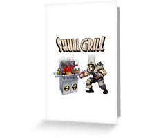 SkullGrill - Skull Girls parody !! Greeting Card