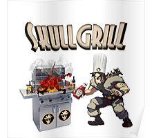 SkullGrill - Skull Girls parody !! Poster