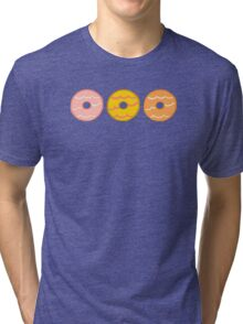 Party Ring Biscuits Tri-blend T-Shirt