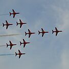 The Red Arrows (Concorde) by mike  jordan.