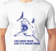 LIVE EVERY WEEK LIKE SHARK Unisex T-Shirt