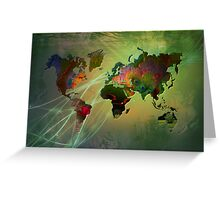 Earth In Light Greeting Card