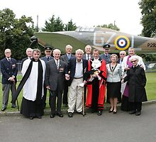 Battle of Britain Day at St George's RAF chapel Biggin Hill by Keith Larby