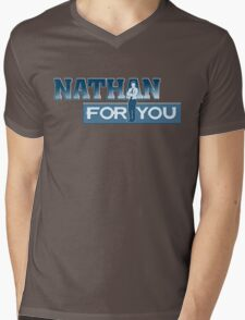 Nathan For You Mens V-Neck T-Shirt