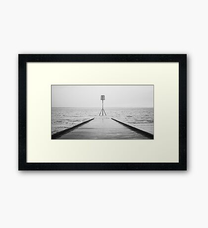Lytham Jetty Framed Print