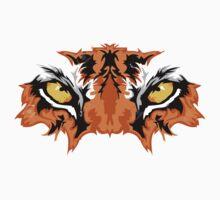tiger eye One Piece - Short Sleeve
