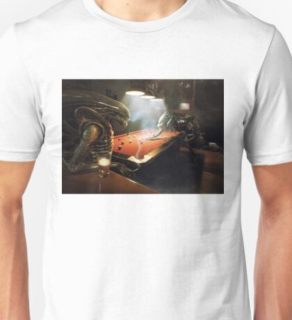 Alien vs Predator Pool Unisex T-Shirt