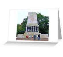 War Memorial in London Greeting Card
