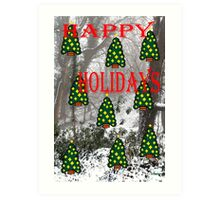 HAPPY HOLIDAYS 29 Art Print