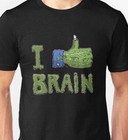 I like brain Unisex T-Shirt