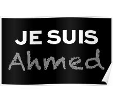 Je Suis Ahmed Poster