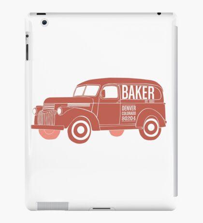 The Baker Neighborhood in Denver iPad Case/Skin