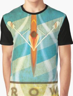 The Serenity of Sculling Graphic T-Shirt