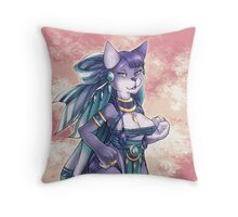 Tribe Cat Throw Pillow