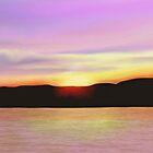 Lavender Sunset by emilybrownart