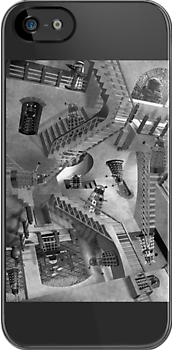 Escher's Asylum of the Daleks by paulandgoats