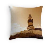 Hook Lighthouse, Wexford Throw Pillow