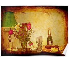 Country Still Life Poster
