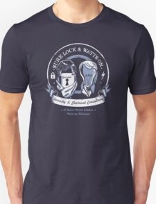 Sure-Lock & Watts-On Consulting Unisex T-Shirt