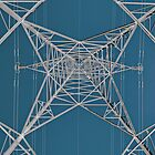 Pylon (132000 volts) by martin bullimore