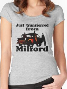 Transferred from Milford Women's Fitted Scoop T-Shirt