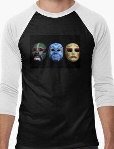 3 ninjas masks Men's Baseball ¾ T-Shirt
