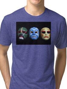 3 ninjas masks Tri-blend T-Shirt