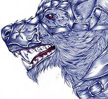 Armored werewolf by Furiarossa