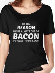 Fuck Bacon Women's Relaxed Fit T-Shirt