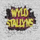 Vintage Wyld Stallyns Wall Smash Tee by kaptainmyke