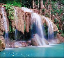 Erawan falls Thailand by leksele