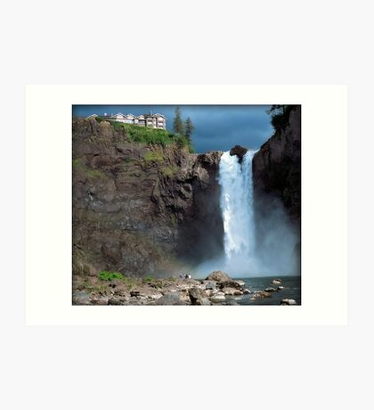 Snoqualmie Falls Washington Art Print