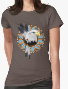 Eagle Dreamcatcher Womens Fitted T-Shirt