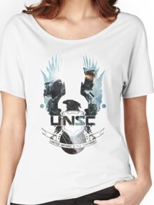 UNSC - Halo 4  Women's Relaxed Fit T-Shirt